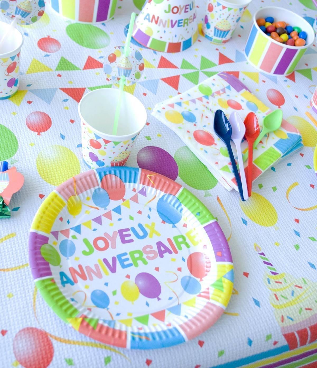 décorations anniversaire bordeaux